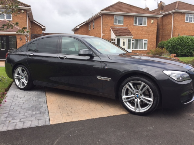 BMW  730D M-Sport Exclusive saloon
